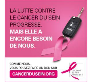 Cette année encore, nos centres de contrôle technique s'impliquent dans la prévention… du cancer du sein